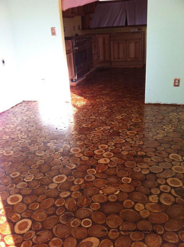 Sunny Pettiz Lutz Cordwood floor 6